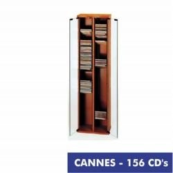 CANNES mueble 156 CD cerezo-puerta cristal