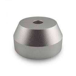 Centrador de aluminio para singles de 45RPM