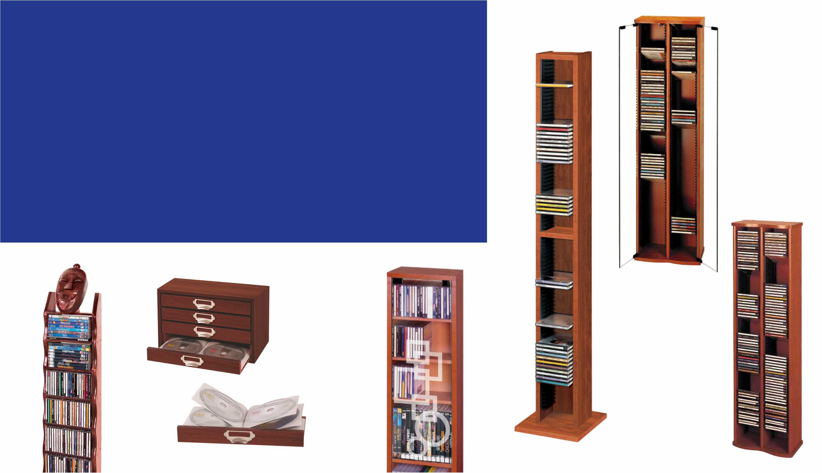 muebles CD y DVD
