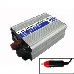 Convertidor universal coche 100W con toma USB