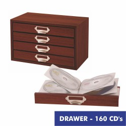 DRAWER cajonera para 160 CD