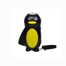Linterna led dinamo infantil pingüino