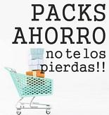 Packs ahorro - no te los pierdas!!