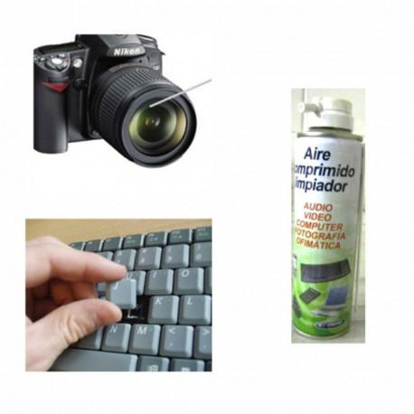 Spray aire comprimido para limpieza