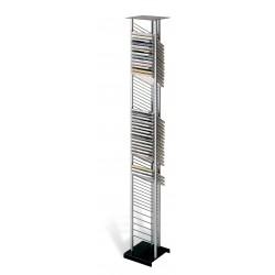 ATENAS archivador 55CD+5CDD negro-plata