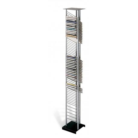 ATENAS mueble 55CD+5CDD negro-plata